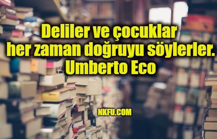 Umberto Eco Sözleri
