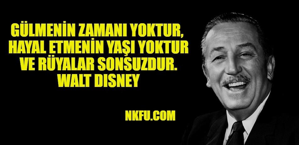 Walt Disney Sözleri