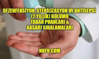 Dezenfeksiyon Sterilizasyon ve Antisepsi