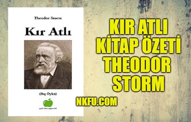Kır Atlı Kitap Özeti Konusu Yorumlar - Theodor Storm