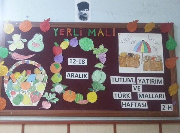 Tutum Yatırım ve Türk Malları Haftası Pano Çalışmaları