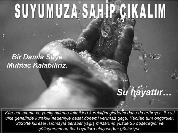 Su Kirliliği İle İlgili Sloganlar