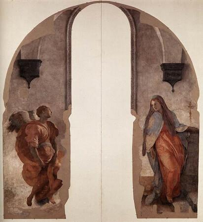 Duyuru, fresk