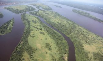 Kongo Nehri Havadan Görünüm