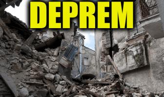 Deprem İle İlgili Cümleler - İçinde Deprem Kelimesi Geçen Cümleler