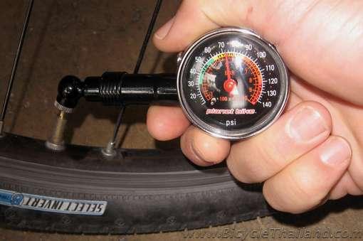 bisiklet gaz basıncı