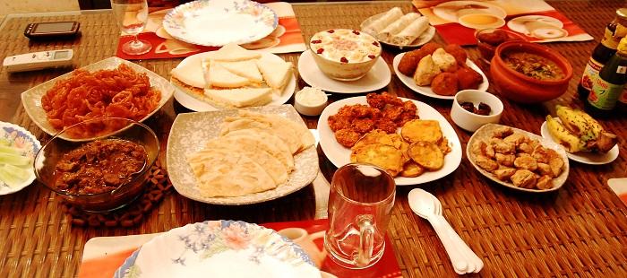iftar sofrasi