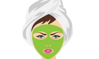 yüz bakımı maske