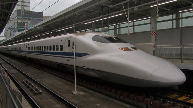 manyetik raylı tren