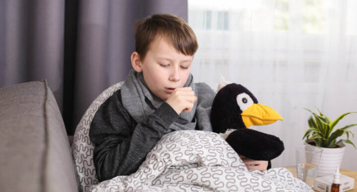 çocuklarda bronşit