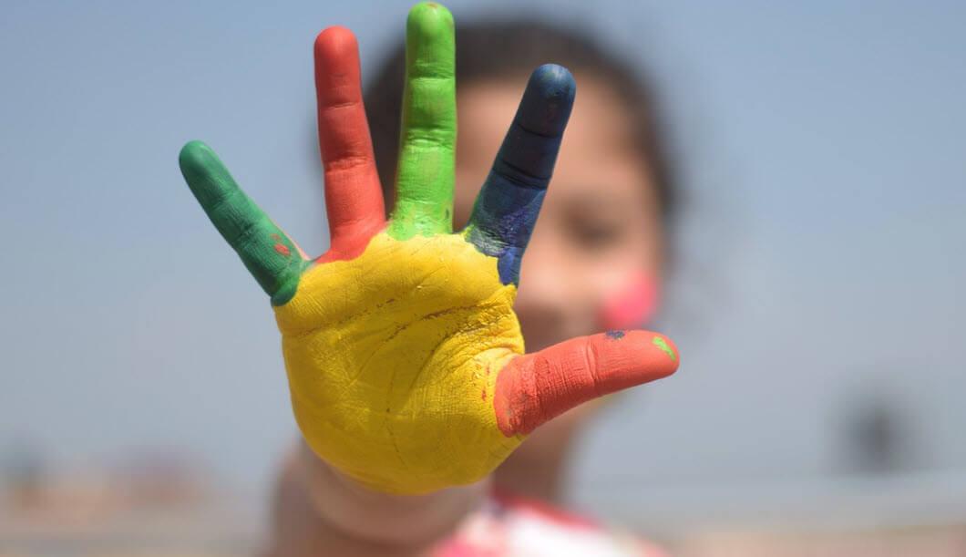 çocuklarda sanat
