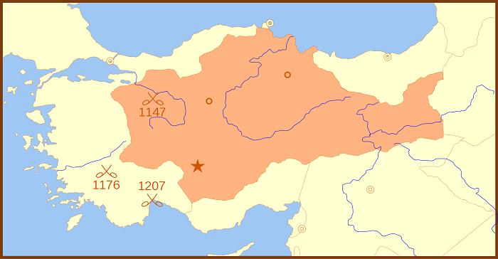 Selçuklu Sultanlığı, 1190