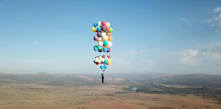 balonla uçmak