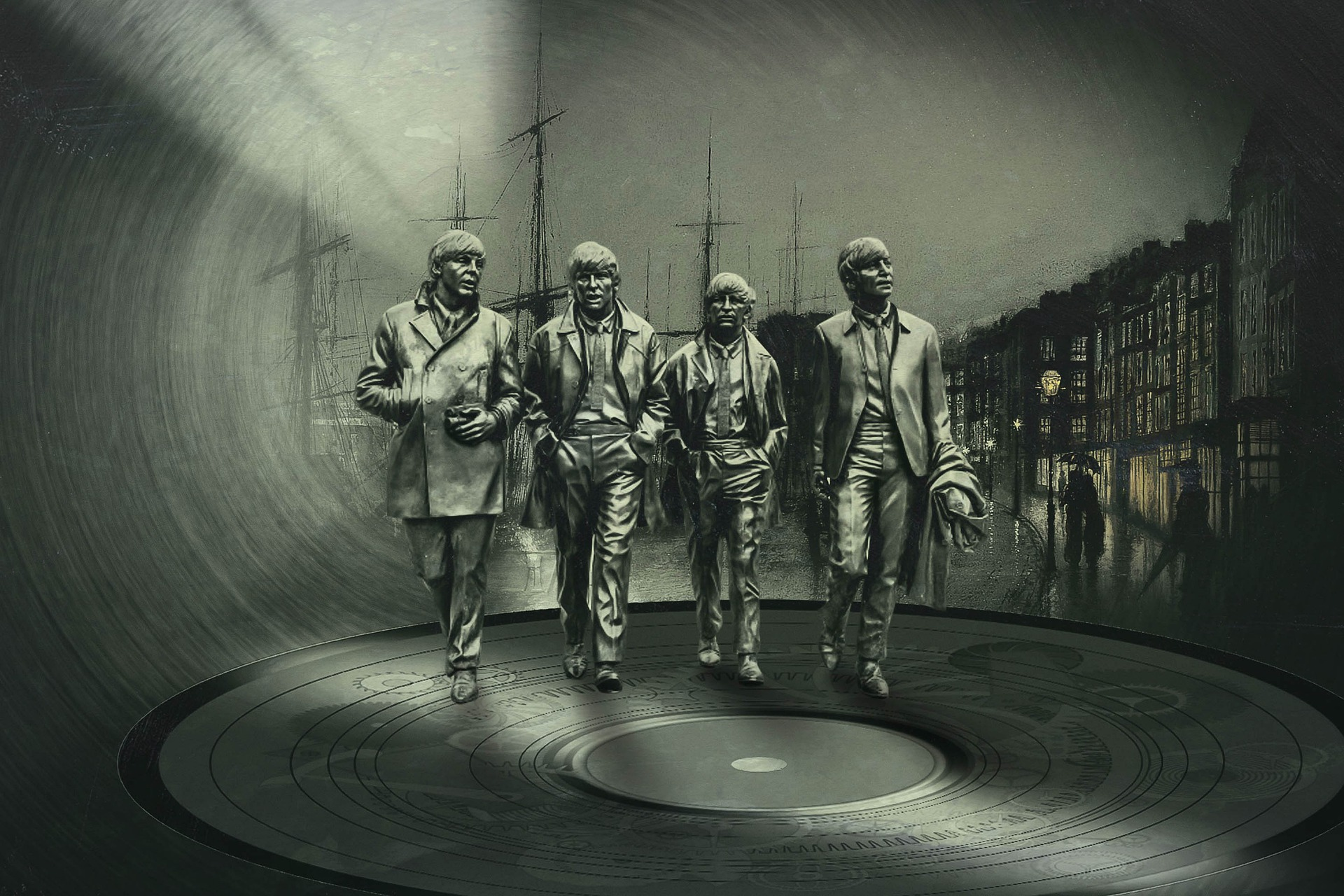 """Efsanevi İngiliz Müzik Grubu """"The Beatles"""" Hakkında Bilgiler"""