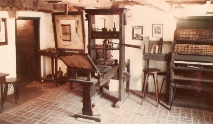 gutenberg matbaası