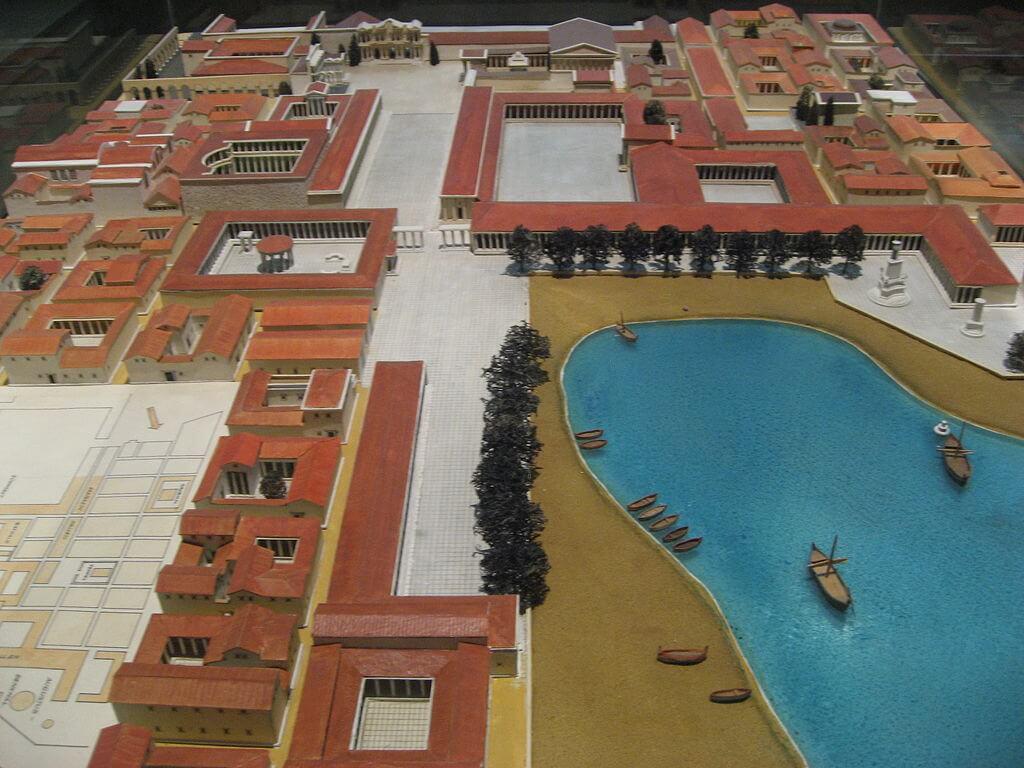 Milet Antik Kenti Örnek Modeli