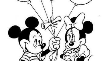 Mickey Mouse Boyama Sayfaları