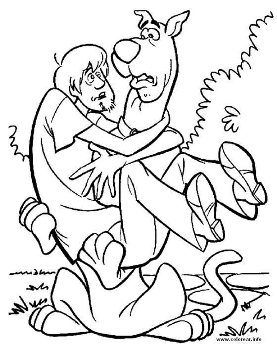 Scooby Doo Boyama Sayfaları