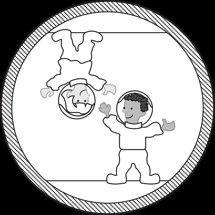 Uzay Boyama Sayfaları