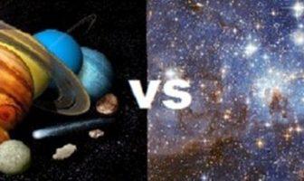 yıldız gezegen