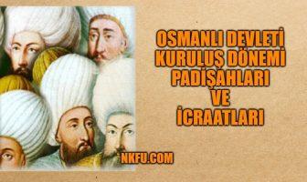 osmanlı kuruluş dönemi