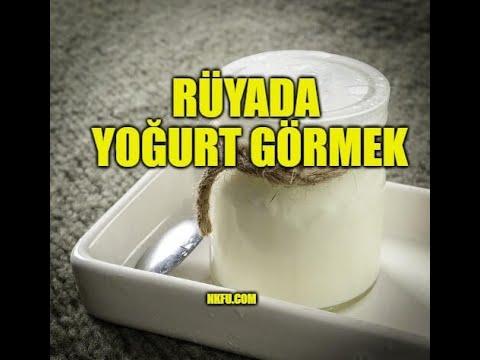 rüyada yoğurt görmek