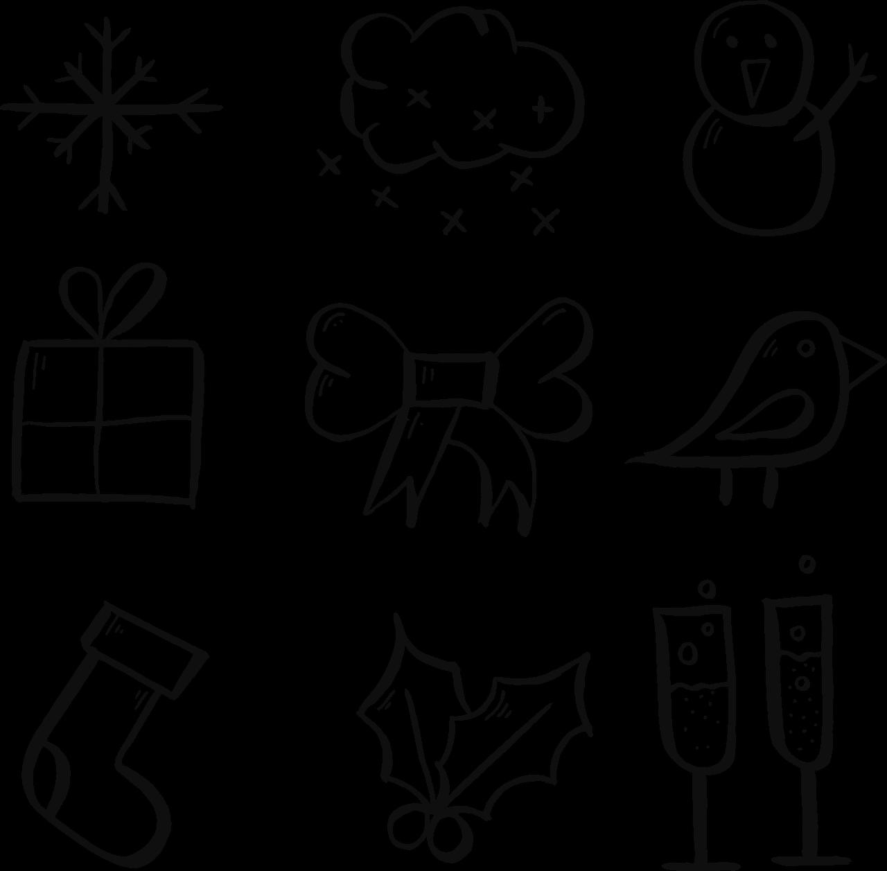 Yeni Yıl Boyama Sayfaları